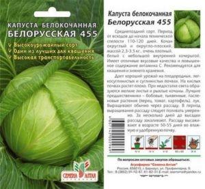 капуста белокачанная Беларусская